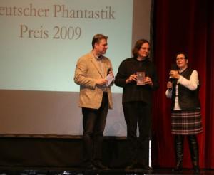 Ju Honisch erhielt 2009 den Deutschen Phantastik Preis