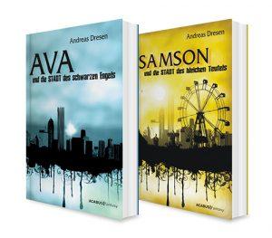 Buchbundle Ava und Samson